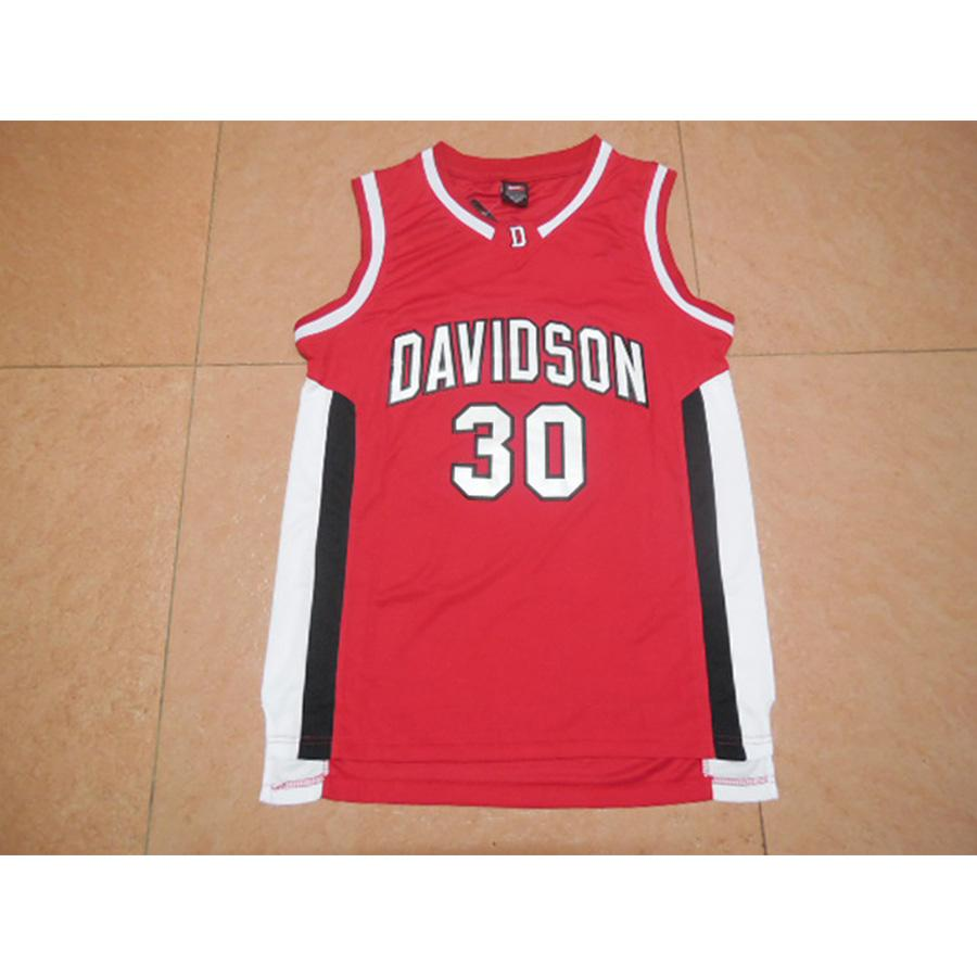 finest selection b2eb7 e82b5 Mens Stephen Curry Jersey Davidson Wildcats College Basketball Jerseys High  Quality Stitched Name&Number Size S-2XL
