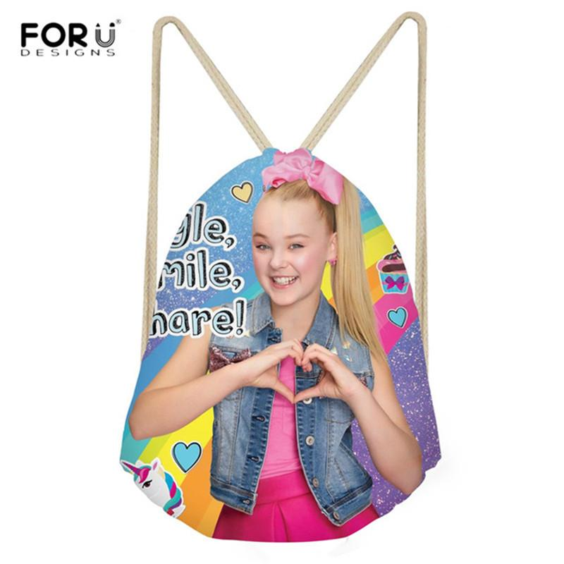 ORUDESIGNS 3D Print School Bags for Teenage Girls Drawstring Bag Students Casual Bookbag Travel Beach Bag Bolsa FORUDESIGNS 3D Print Scho...