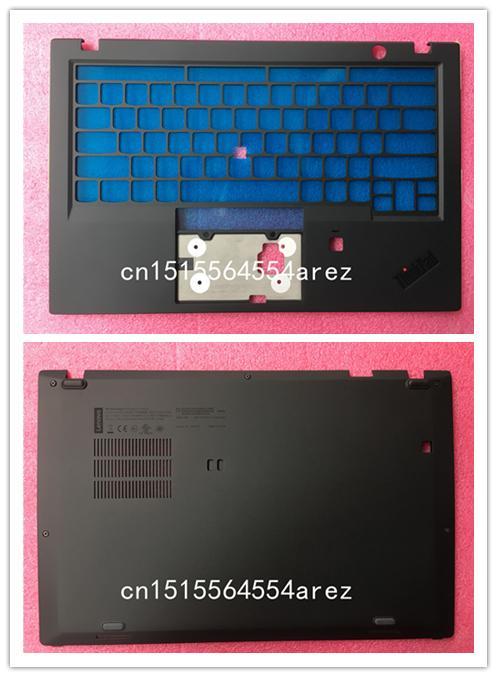 on sale e7f05 1a280 New and Original Lenovo Thinkpad X1 Carbon 6th TYPE 20KH 20KG Base Cover  Bottom Case Palmrest Keyboard Bezel 01YR421 AM16R000600