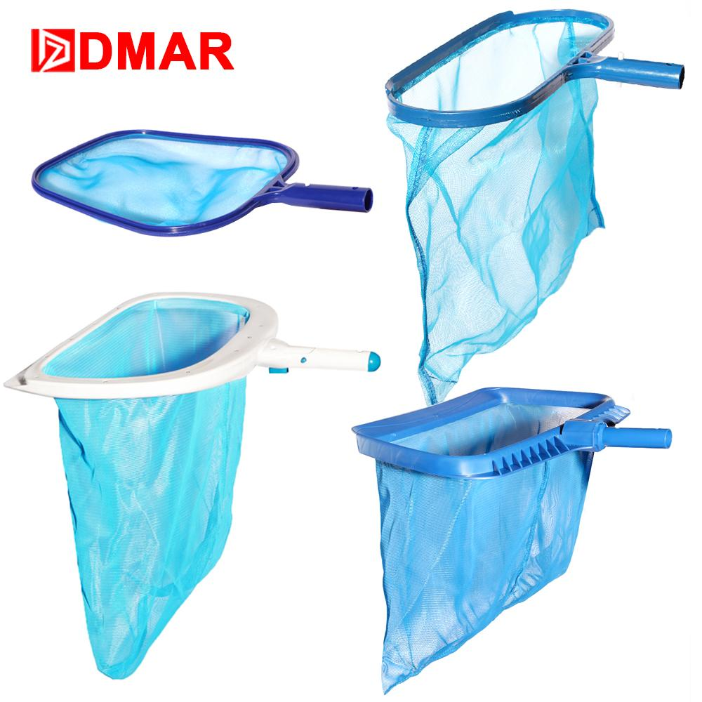 DMAR Swimming Pool Skimmer 4 Sizes Cleaner Leaf Rake Mesh Net Fountain Pool  Tool Leaf Shallow Bag Cleaning Equipment Accessories