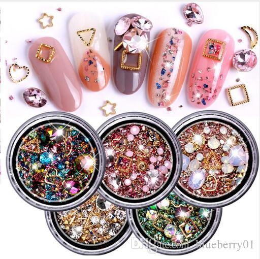Compre piedras de cristal de colores mezclados para u as for Cristales swarovski para decorar unas