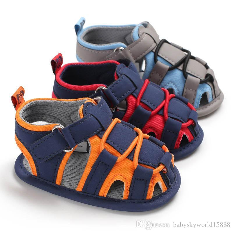 0-1t baby shoes Summer baby boy shoes baby Sandals Moccasins Soft First Walker Shoe infant shoes Newborn Sandals Toddler Sandals