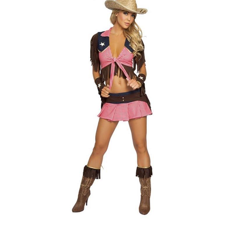 adulte costume de cow girl