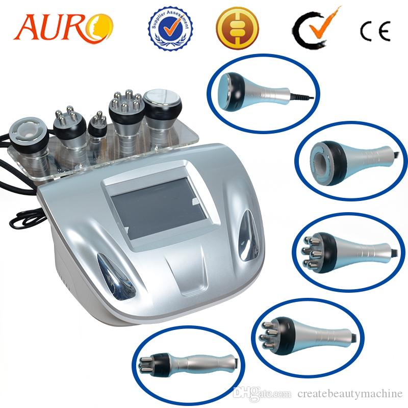 Cavitation machine 5 IN 1 tripolar rf ultrasonic cavitation vacuum ultrasonic fat burn body massager machine