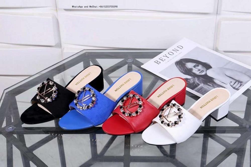 7c94514774f5d Brand Hot Sale Women's Summer Set in drill Sandals Flip Flops Fashion Beach  Shoes Femininas Flat Casual Slippers