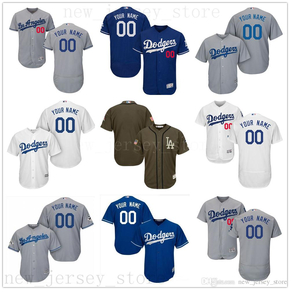 c1cdfa68a 2019 2019 CUSTOM Ls As Dodgers Mens Women Youth Customized Majestic 100%  Stitched Baseball Jerseys Personal Name Person Number Size S XXXL From ...
