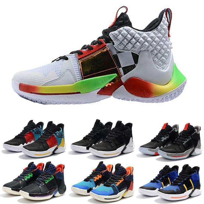 reputable site fd454 71011 Cheap 2019 New Why Not Men 0.2 PF Sneakers Russell Westbrook II Basketball  Shoes Sneakers Zero 2 Original Trainers Size Eur40-46 Uumall