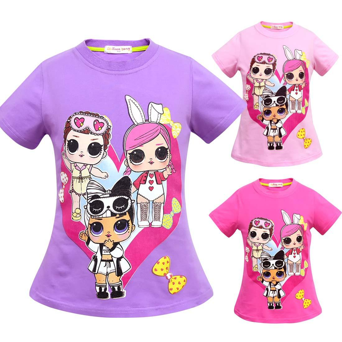 f1dc3f55b Kid Surprise T Shirt Summer Cotton Tees Short Sleeve Boys Girls Top ...