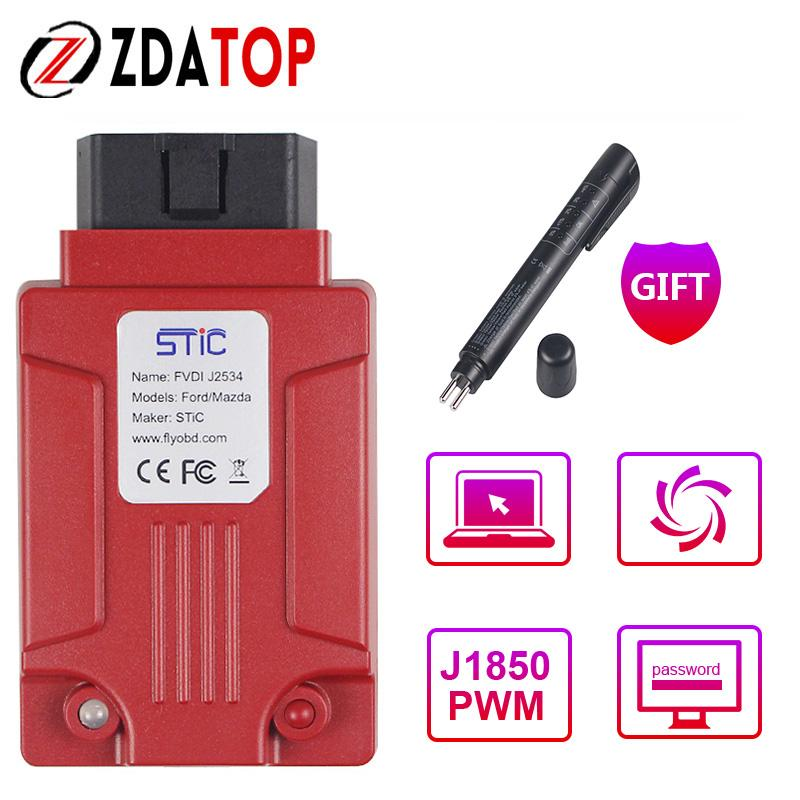 Professional FVDI J2534 Diagnostic Tool for Mazda for Ford IDS for VCM  Better than ELS27 ELM327 VCM2 FVDI J2534 Best Price