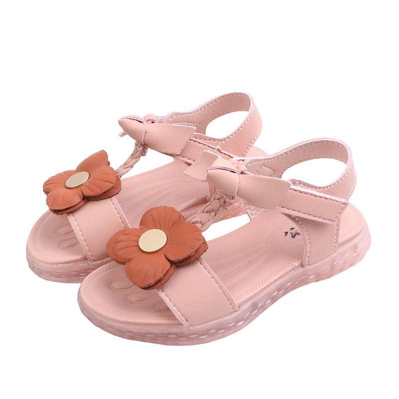 05b8270f7 2019 New Summer Garçons Air Mesh Casual Chaussures Enfants Bébé Fille Plage  Sandale Mode Enfant En Bas Âge Sandales Sport Taille