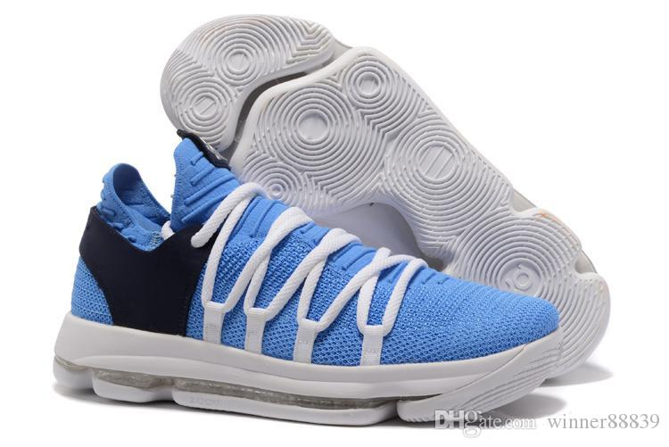 separation shoes 8bfde 9e163 2019 2019 HOT! KD 10 EP Basketball Shoes For Top Quality Mens Shoes 10s Rainbow  Wolf Grey Blue Red Green KD10 Basketball Sneakers From Winner88839, ...