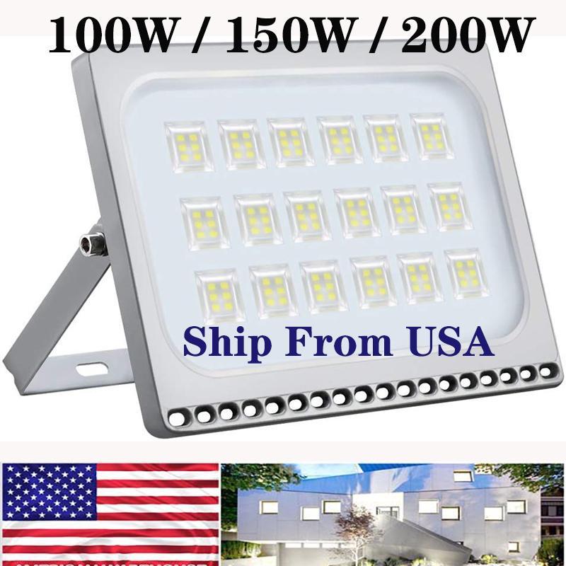 300W 200W 100W LED Flood Light Outdoor Security Landscape Yard Garden Lamp NEW