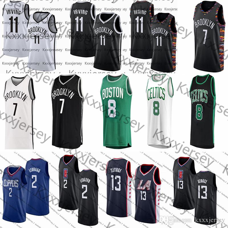 Ncaa 11 Irving-Trikot Kevin 7 Durant Kemba 8 Walker Kawhi 2 Leonard Paul 13 College-Basketball-Trikots von George Mens
