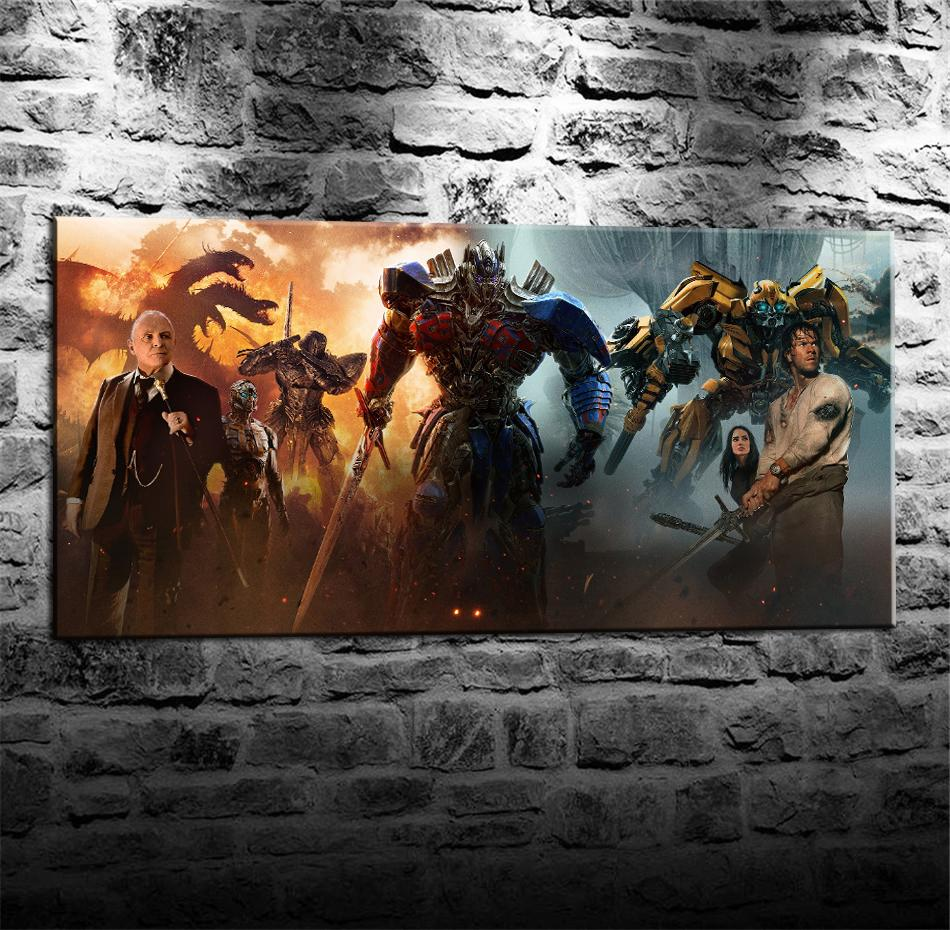 2019 Transformers The Last KnightHome Decor HD Printed Modern Art Painting On Canvas Unframed Framed From Q652398773 598