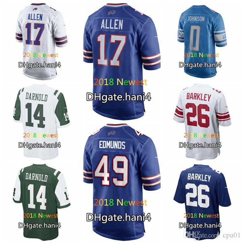 2019 2018 Draft Men Women Youth Jersey Buffalo Bills 17 Josh Allen  free shipping