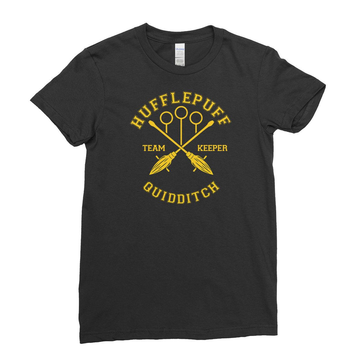 Potter De Quidditch Keeper Mujer Hufflepuff Equipo Camiseta Harry Para HED29WI