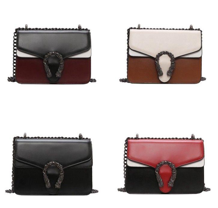 Umhängetaschen Für Frauen Handtaschen Designer Bolsa Feminina Umhängetasche Damen Sac Ein Haupt 2019 pu Leder Geldbörsen 23 * 10 * 16 cm