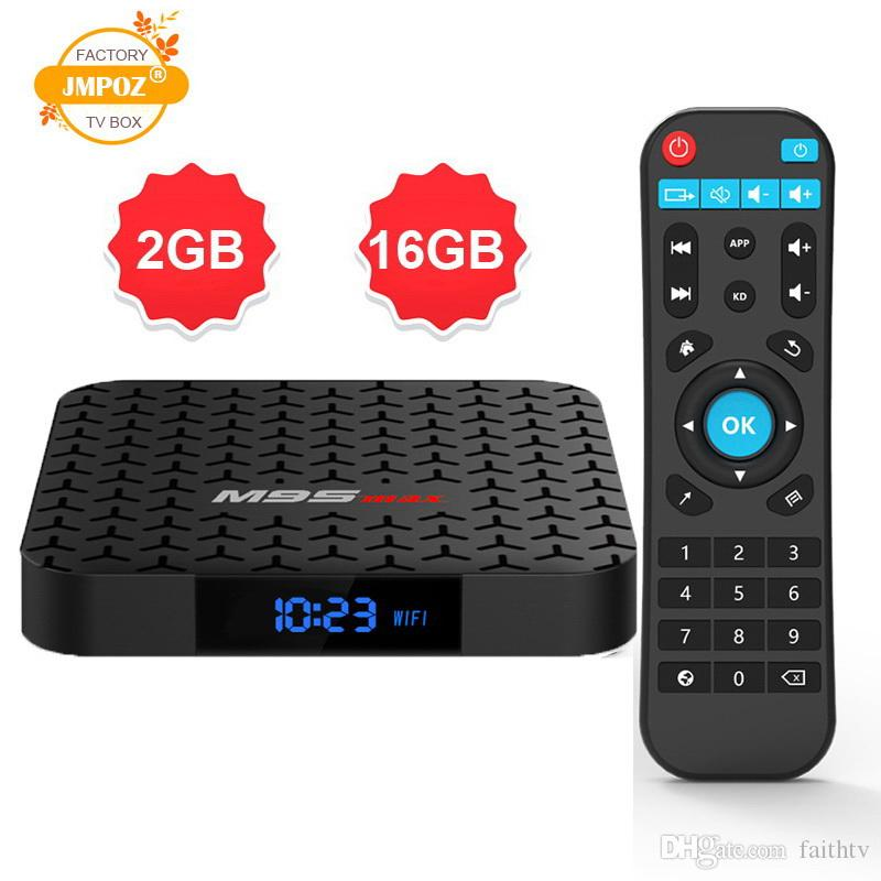 2019 New hot M9S MAX android 7 1 tv box 1GB 2GB 8GB 16GB Amlogic S905W  support StbEmu Youtube Netflix 4k h 265 2 4g wifi IPTV BOX