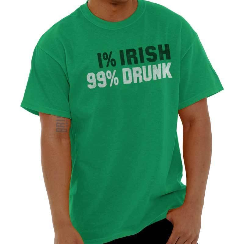 e16686fd Irish Drunk Funny St Patricks Day Patty Shirt Beer Cool Drink T Shirt Funny  Unisex Casual Top Shirt Cool T Shirts For Boys Online Cool Team Shirts From  ...