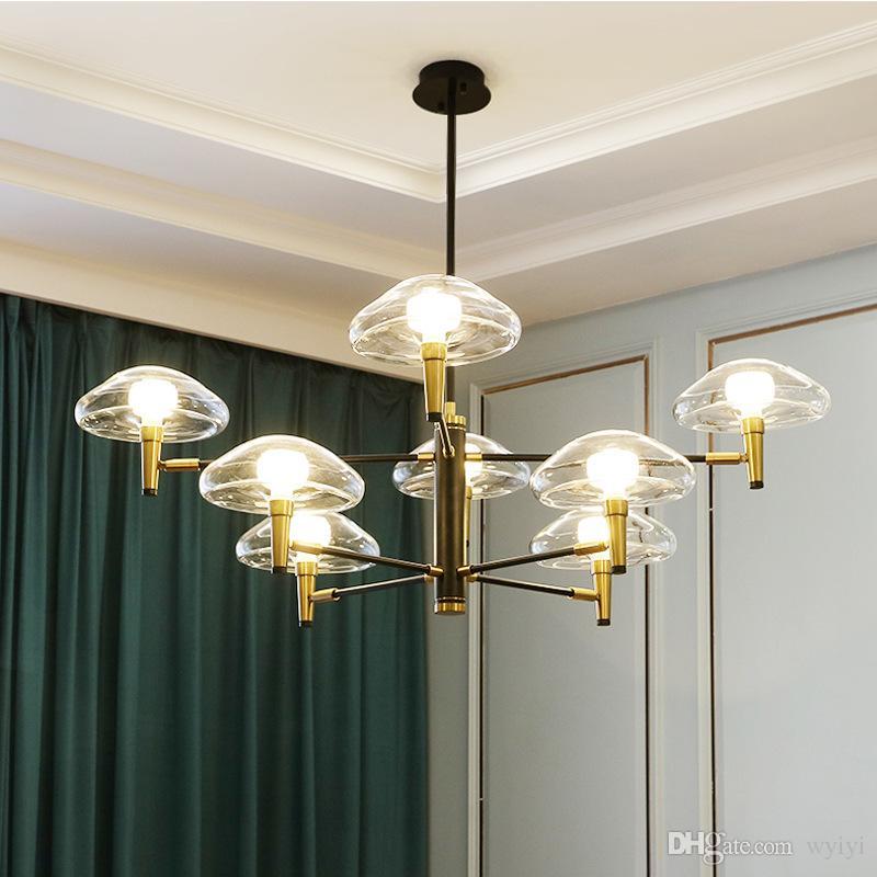 Moderne kristall led kronleuchter beleuchtung chrom metall wohnzimmer led  anhänger kronleuchter lichter esszimmer hängen lampen leuchten 90-265 v