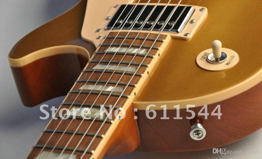 Top Musical instruments Traditional Gold top FANTASTIC Electric Guitar