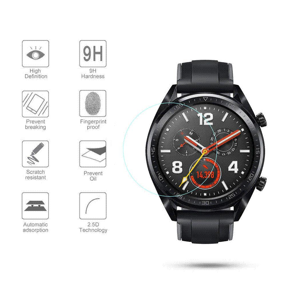 d028522ab For Huawei Watch GT Tempered Glass Screen Protector Protective Film Guard  Anti Explosion Anti Shatter Wholesale Online Gadgets Online Mobile Stores  From ...