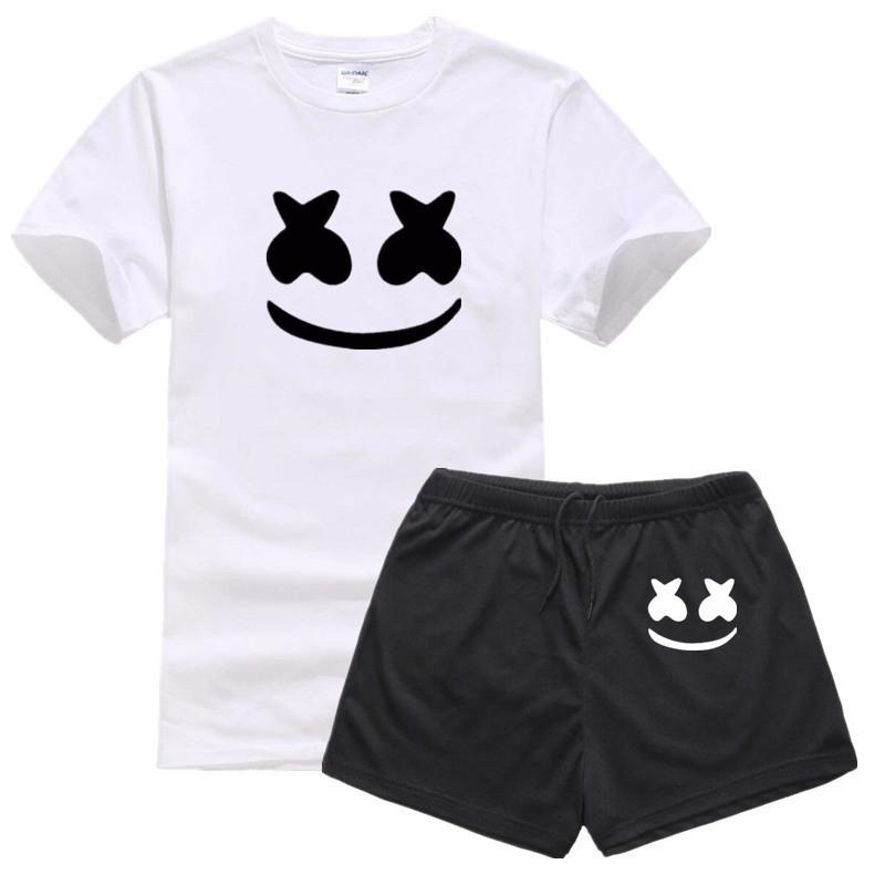 4eb68c69e81 2019 New Summer Asian Size Print DJ Marshmello Fashion T Shirt Short Sleeve  Summer Casual O Neck T Shirt For Men And Women One Day T Shirt Best Site  For T ...