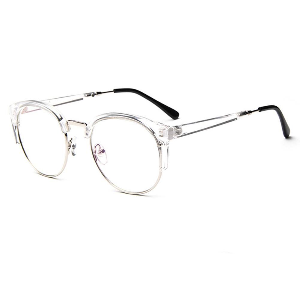 adf6c5f46c9a New Fashion Cat Eye Half Frame Metal Anti Radiation Goggles Plain Glass  Spectacles Smith Sunglasses Sunglasses At Night From Ericgordon