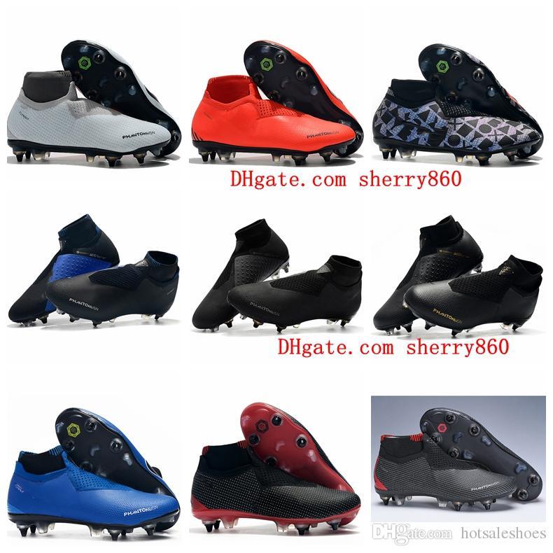 292cbdd0d91 2019 New Arrival Mens Soccer Shoes Phantom VSN Elite DF SG-Pro Anti ...