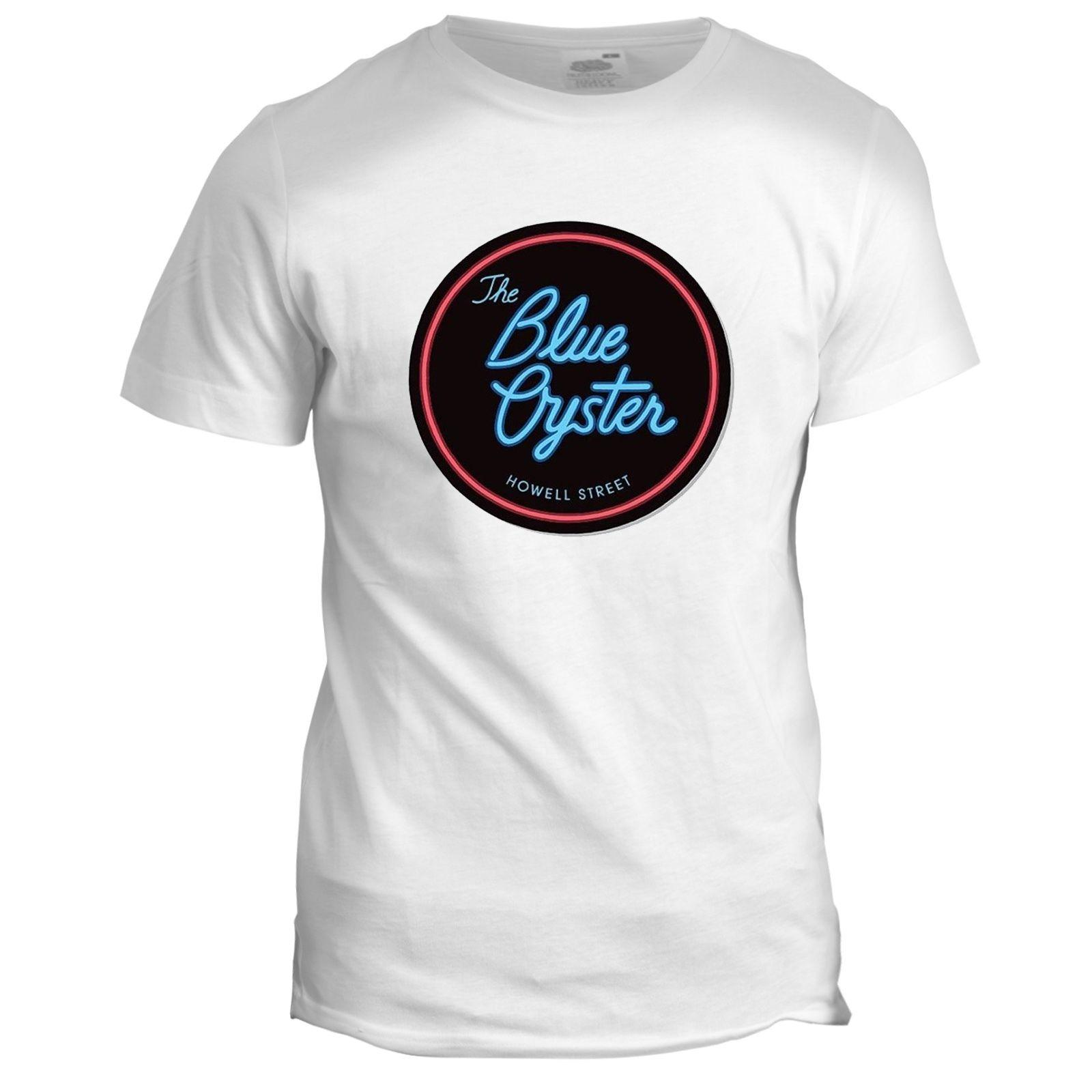 Blue Oyster Bar Inspired Police Academy Movie Film 80s Mens T Shirt