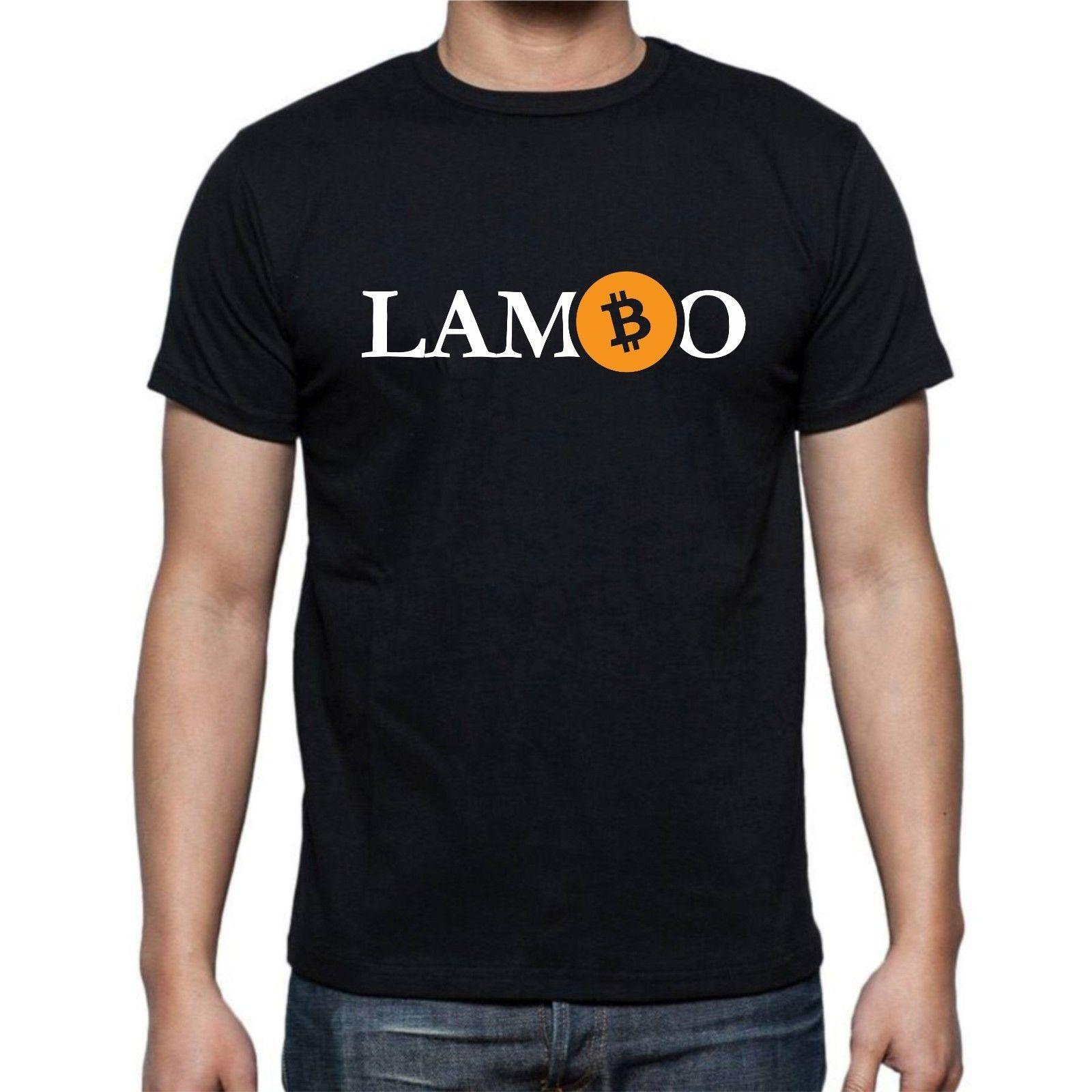 a38c5529 Bitcoin BTC Lambo Cryptocurrency Logo T Shirt Crypto Hodl S XXXL Funny Tee  T Shirt Buy From Goldshop76, $11.48| DHgate.Com