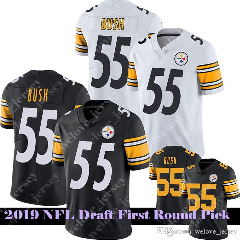 half off acde1 fa999 55 Devin Bush Steelers jersey 3 Josh Rosen Lock jersey 20 Landon Collins  Redskins 2019 Draft First Round Pick jerseys