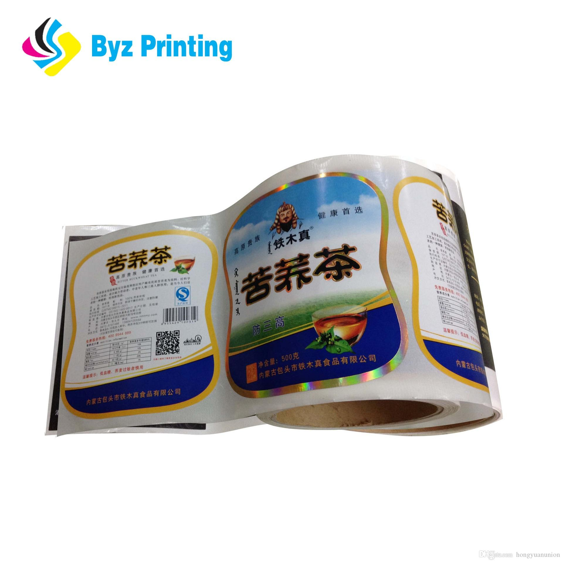 2019 custom printed self adhesive food packaging label waterproof food sticker from hongyuanunion 0 04 dhgate com