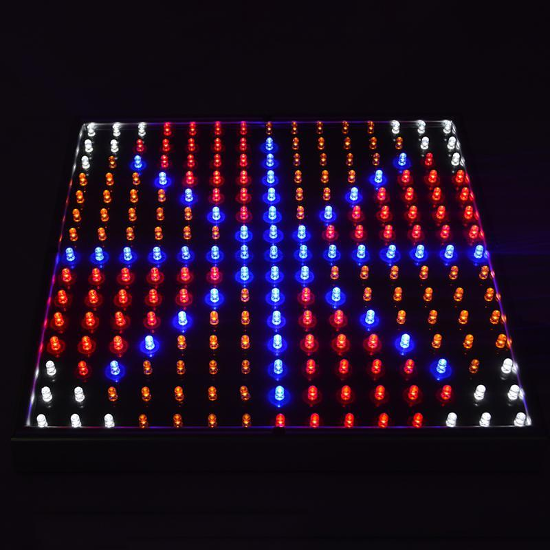 wholesale 15WFull Spectrum Panel LED Grow Light 85~265V Greenhouse Horticulture Grow Lamp for Indoor Plant Flowerin