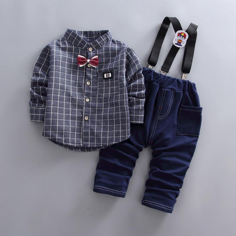 41565a96f0395 BibiCola Bebe Boys Clothing Sets Kids Boys Spring Autumn Cotton Long Sleeve  Fashion Clothes Suit Children Top+Pants Outfits Online with $47.27/Piece on  ...