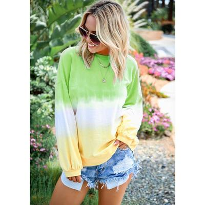 Sudadera con capucha Rainbow para mujer Moda 2019 Recién llegado Otoño Sudaderas con capucha de lujo Casual Gradient Color Womens Plus Size Tops Ropa Talla S-5XL 333