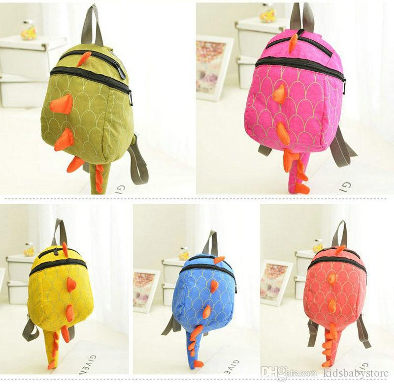 Cute Dinosaur Baby Preschool Backpack Children Toy Backpack School Bag Shoulders Bag School For Boys Girls