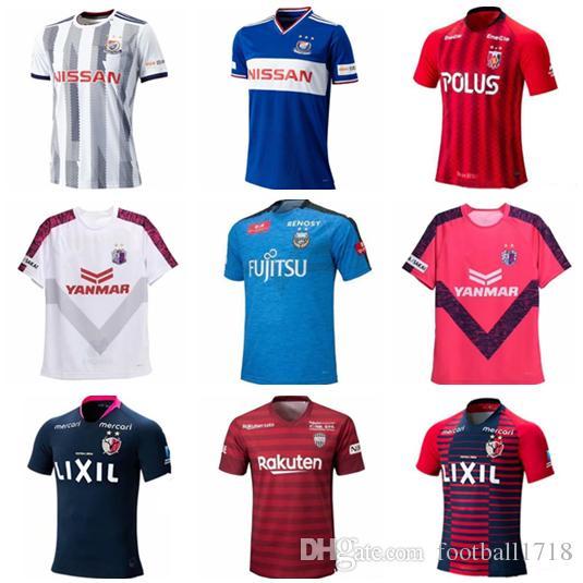 864abd875d83d Camisas De Futebol De Jiu Liga De Kashima Jules 2019 Yokohama Marinos Urawa  Camisa De Futebol De Diamantes Vermelhos 19 20 Cerezo Osaka home Uniforme  De ...