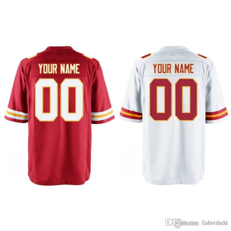 da69f3af0fb Custom Men Youth Women Kansas City Patrick Mahomes Travis Kelce ...