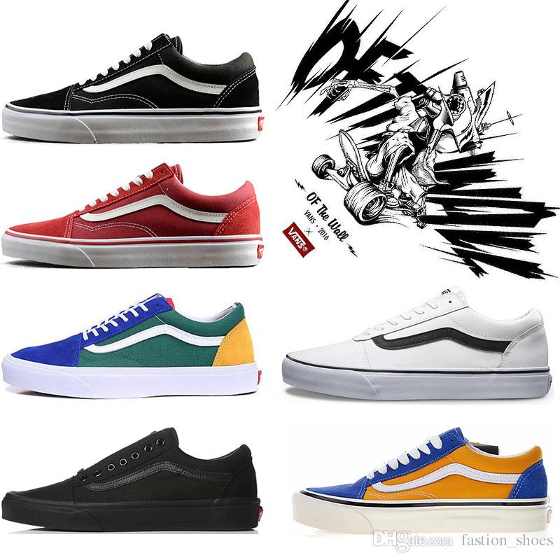 reputable site c5e2c bfbf8 FEAR OF GOD Vans OFF THE WALL Skool Sk8 Hombres Mujeres Lienzo Zapatillas  Negro Blanco YACHT CLUB MARSHMALLOW Moda Skate Zapatos Casuales Por  Fastion shoes, ...
