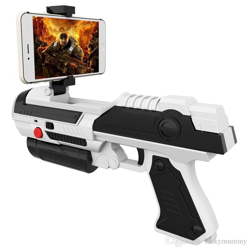 Creative Mobile Phone Smart Bluetooth AR Game Gun Toy VR Gamepad Game Gun  Outdoor Fun Sports Air Guns Toy Gun Creative Toys VB
