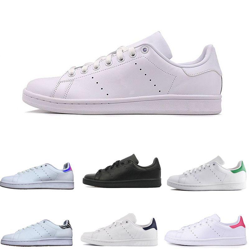 newest 10c9c edeae 2018 Stan smith Superstar Original White Hologram Iridescent Junior Gold  Superstars Sneakers Originals Women Men Sport Running Shoes