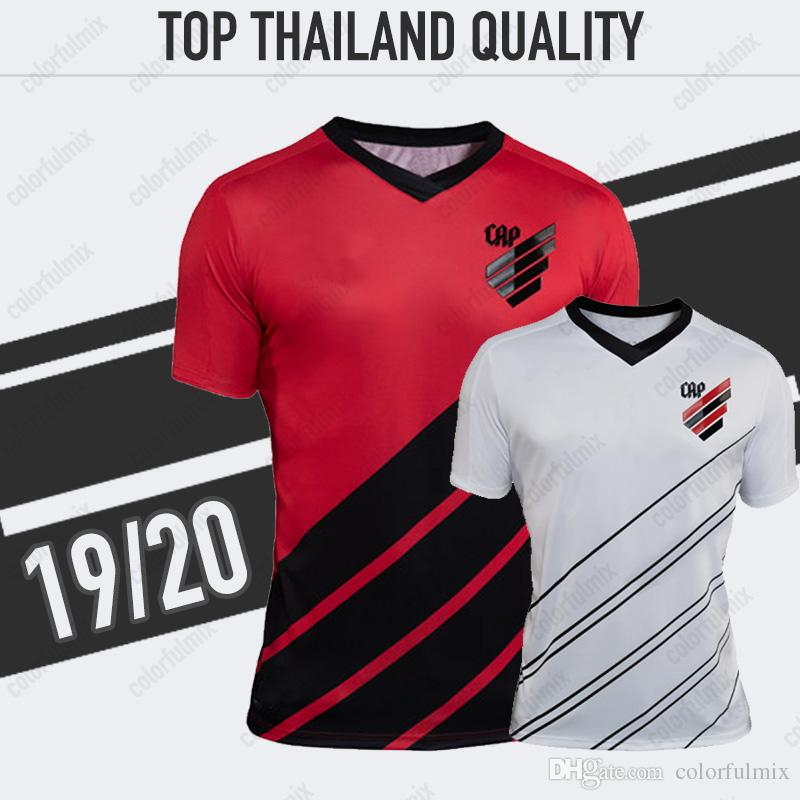 e41c7a15843 2019 19 20 Atletico Paranaense Soccer Jersey Home Red Away White Jersey 2019  2020 Adult Paranaense Jerseys Soccer Shirt Football Uniforms From  Colorfulmix