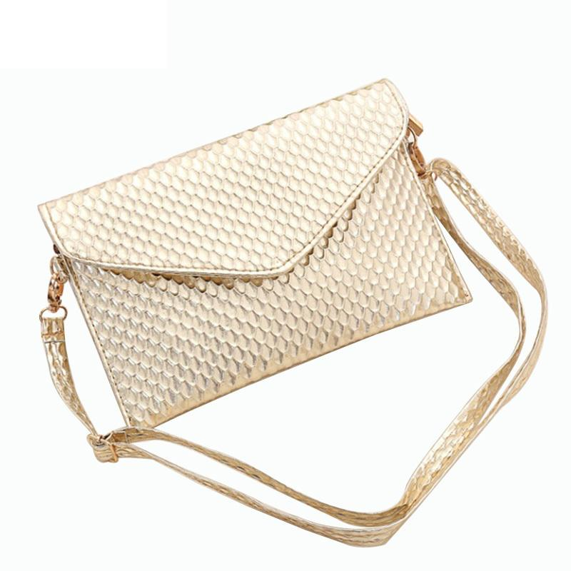 e986792892 good quality 2019 Charming Women Clutch Evening Party Bags Gold Sequins  Beach Bag Purse Envelope Pattern Women Messenger Bags