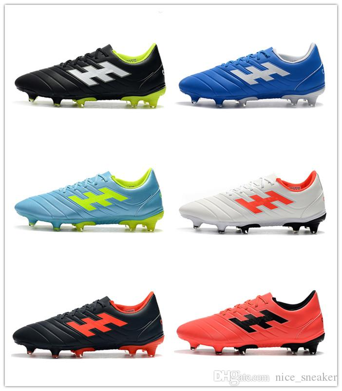 f1b4eebee New 2019 Copa 19.4+ Mundial Leather FG Men Soccer Shoes High Quality  Predatorse Mania Soccer Cleats World Cup Football Boots botines futbol