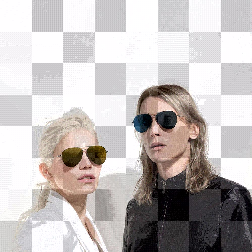 19499f87e20 100% Xiaomi Mi Jia Turok Steinhardt TS Nylon Polarized Stainless Sunglasses  Colorful RETRO 100% UV Proof For Travel Man Woman Phone Gadgets Clearance  ...
