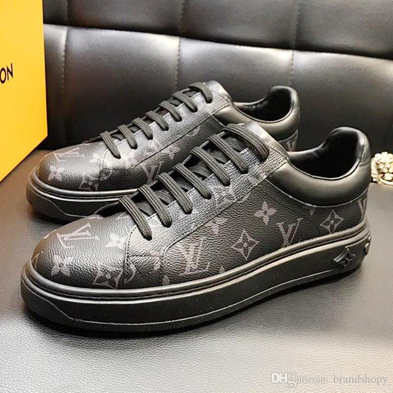 Lightweight Mens Shoes Fast Delivery Drop Ship Lace-up Fashion Classic Skateboarding Casual Low Top Shoes Zapatos de moda para hombre