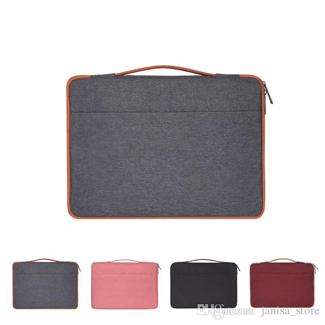 Wholesale hot selling Portable waterproof and wear-resistant Polyester laptop bag soft liner package for Apple Lenovo Xiaomi