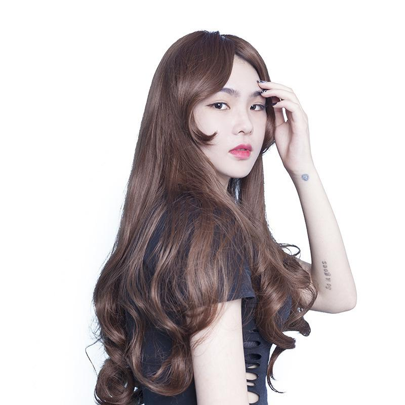 Wig Goods In Stock Long Curly Hair Fashion Male Ma Am General