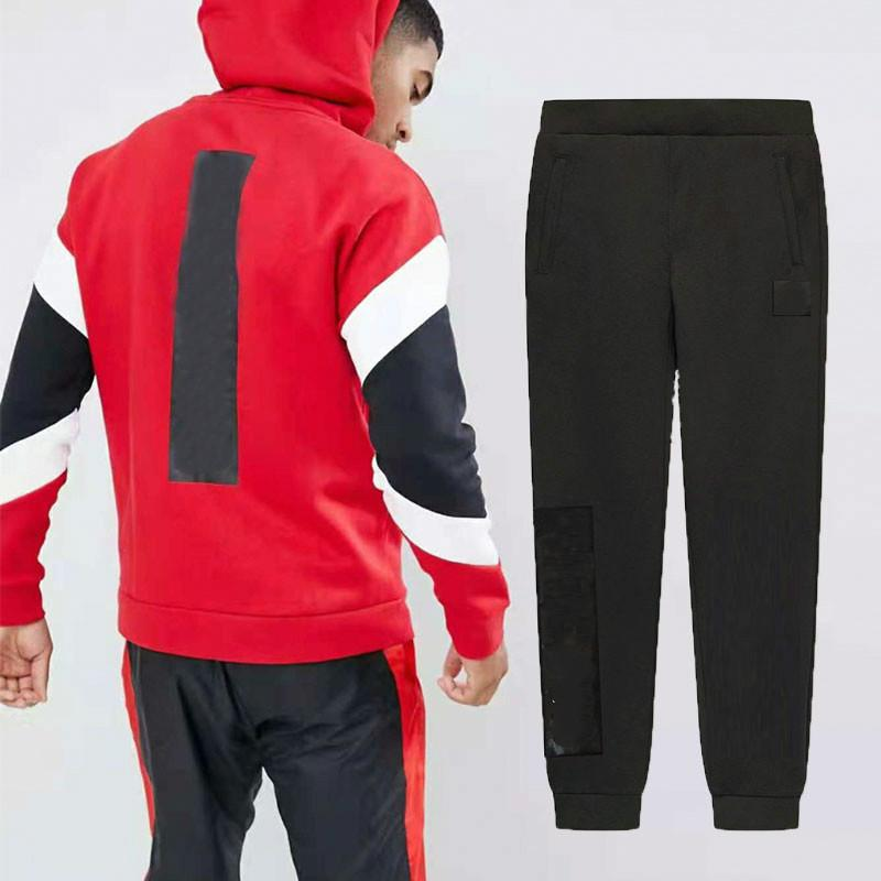 many fashionable buying cheap 2019 real Autumn Designer Tracksuits Luxury Mens Sweat Suits Sportwear Cardigan  Hoodies Pants With Letters Brand Tracksuit Clothing L-4XL Wholesale